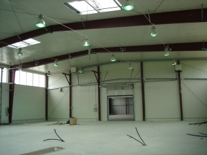 Bifamet - oświetlenie hali